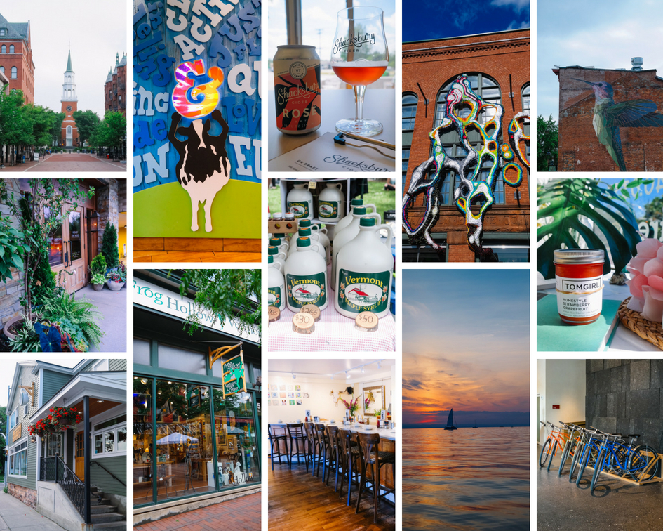 Burlington Vermont weekend travel guide - what to see, what to do, what to eat in Burlington