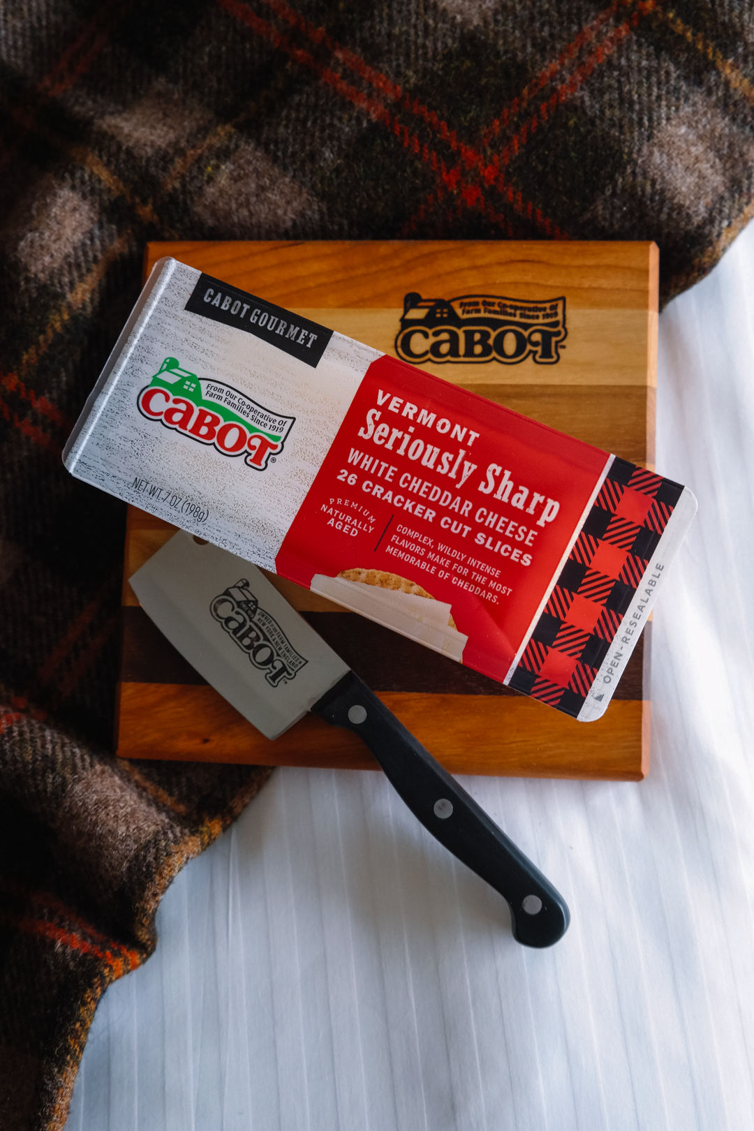 Cabot cheese - seriously sharp cheddar cheese