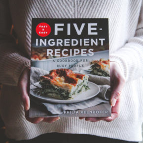 5 Ingredient Recipes-Cookbook & Giveaway