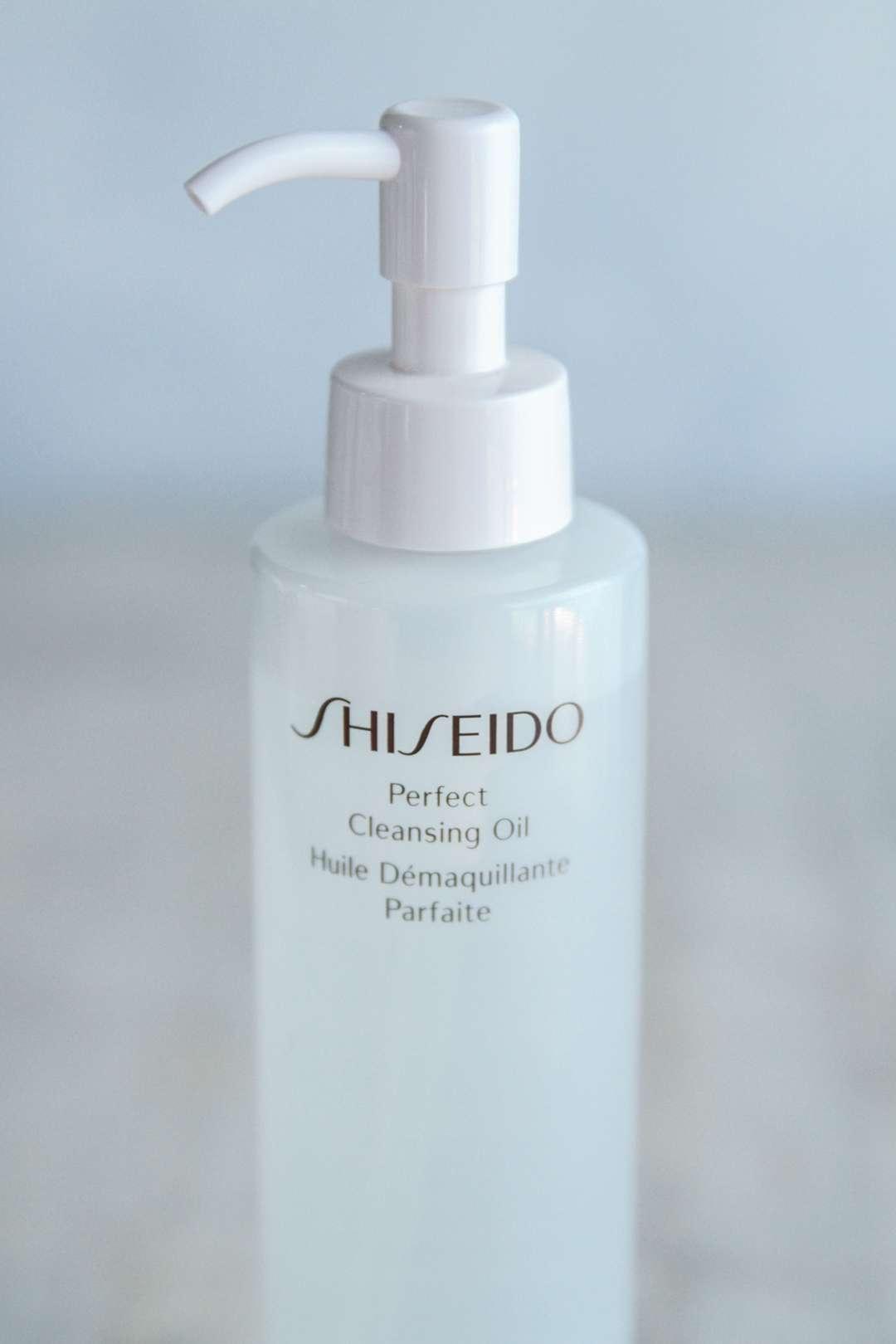 Shiseido cleansing oil for dry skin