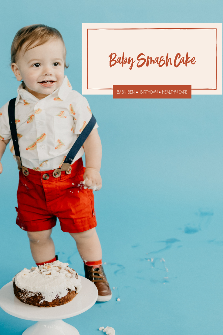 How to make a baby smash cake and simple 1st birthday party
