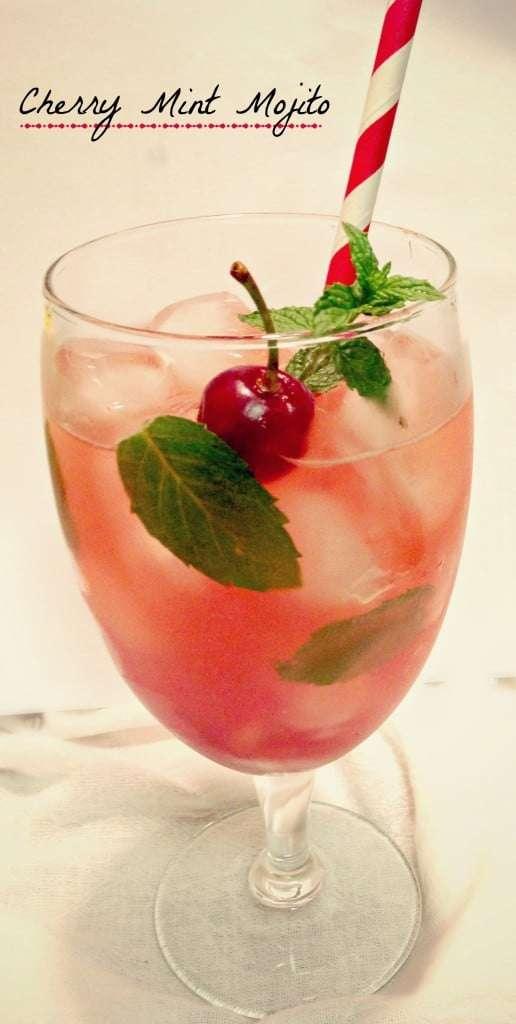 Cherry Mint Mojito