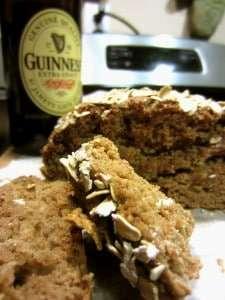 Wheat Guinness Oat Bread