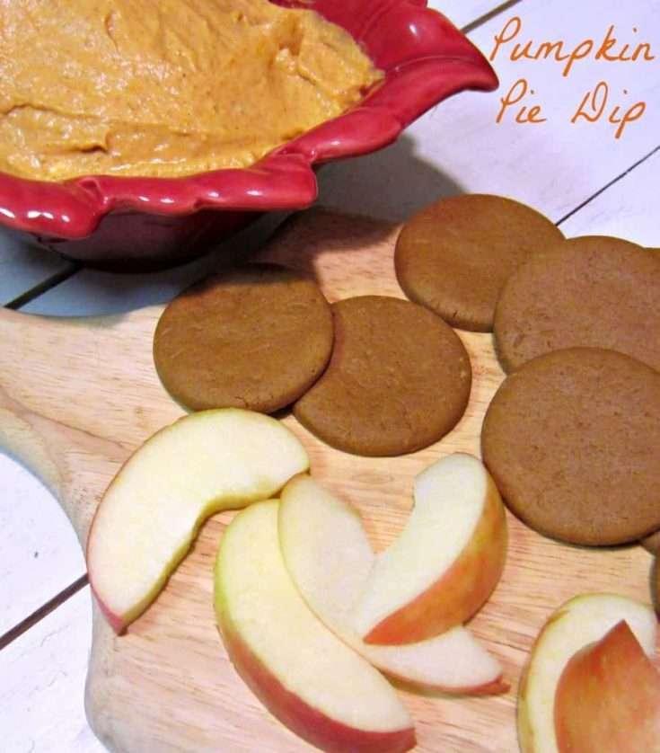 Five Ingredient Fridays - Pumpkin Pie Dip