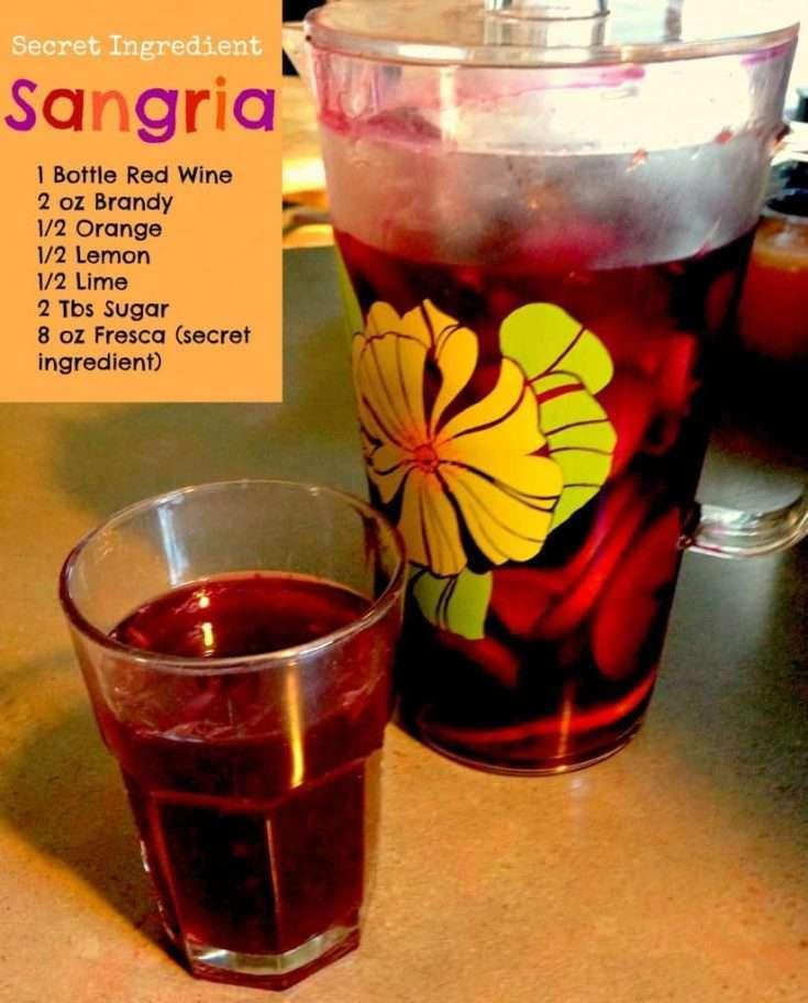 Secret Ingredient Sangria
