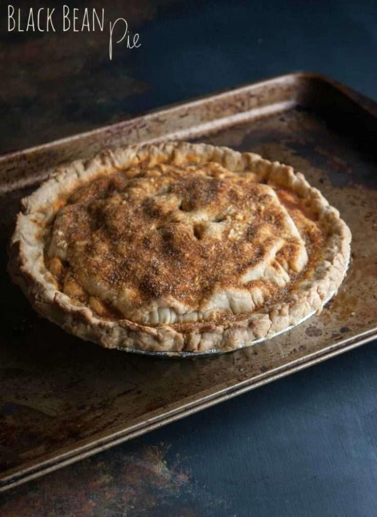 Savory Black Bean Pie