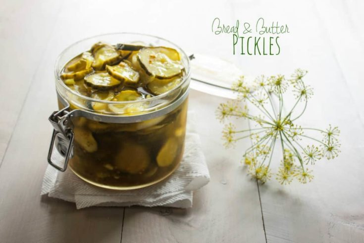 Bread and Butter Pickles {sweet, tangy, and addictingly crunchy}