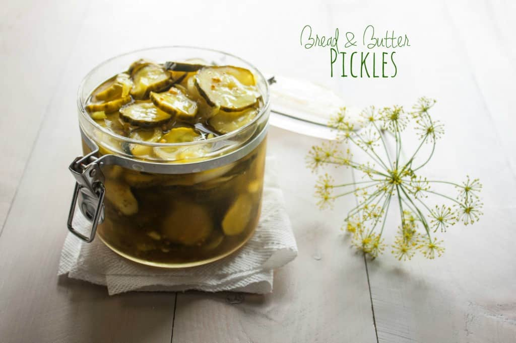 How to make bread and butter refrigerator pickles