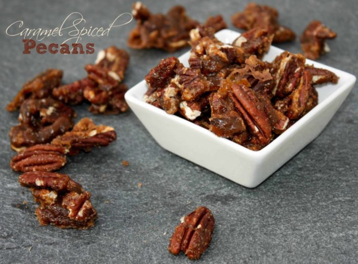 Caramel Spiced Pecans