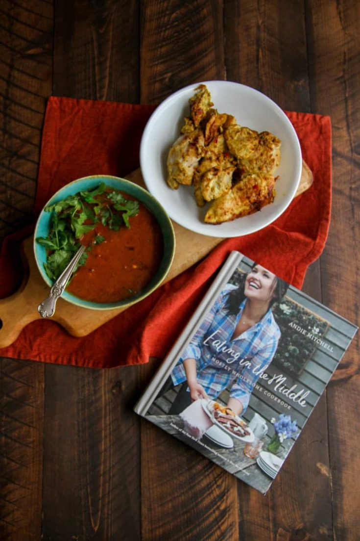 Chicken Curry with Ginger & Yogurt from Andie Mitchell's cookbook (and a giveaway!)