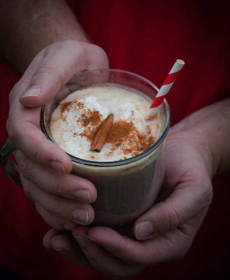 Cinnamon Hot Cocoa {made with Pure Via}