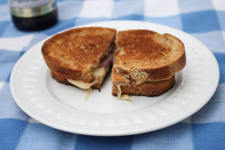 The Drunken Wisconsinite Grilled Cheese