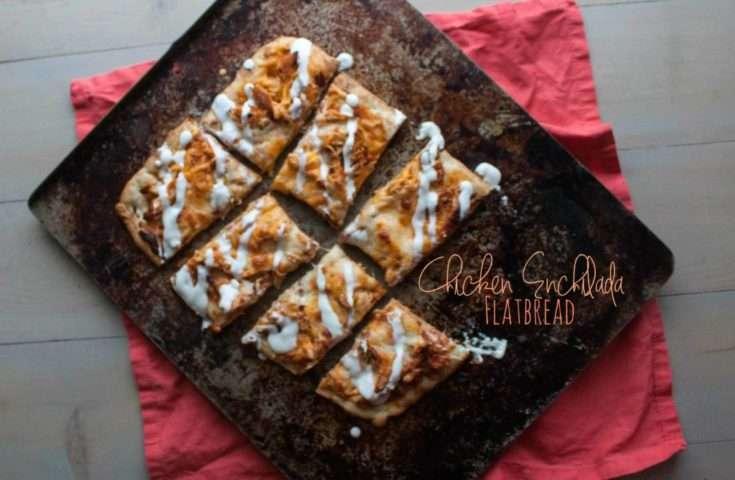 Chicken Enchilada Flatbread