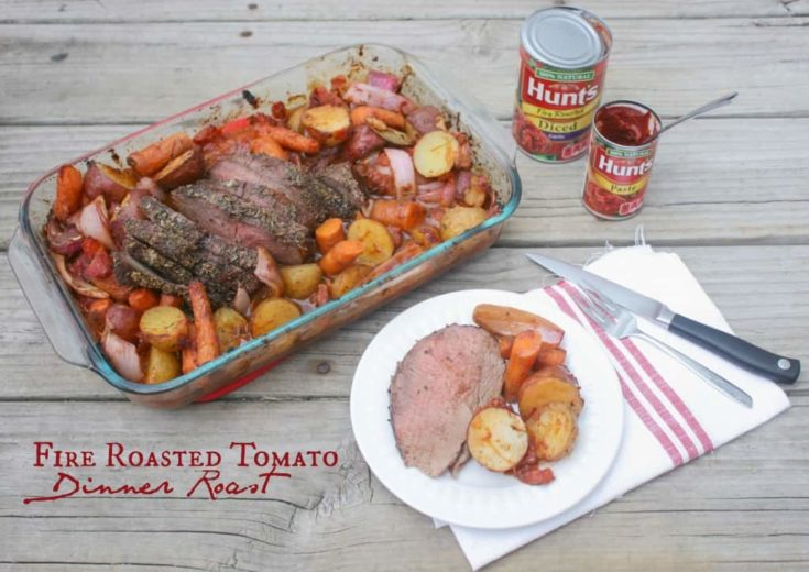 Fire Roasted Tomato Dinner Roast & Recipes for Tomatoes