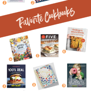 SweetPhi Gift Guides, my favorite cookbooks