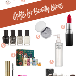 SweetPhi holiday gift guide - best gifts for beauty lovers, best gifts for beauty lovers