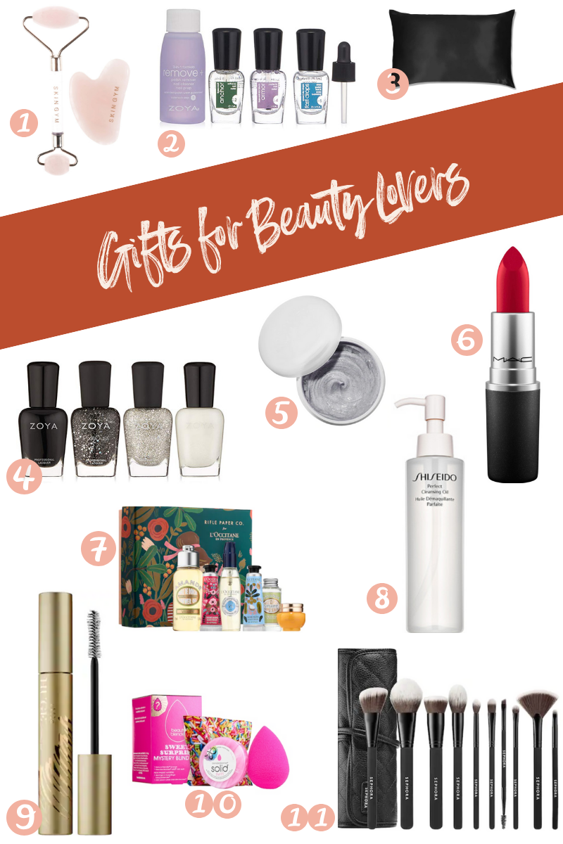 SweetPhi holiday gift guide - best gifts for beauty lovers