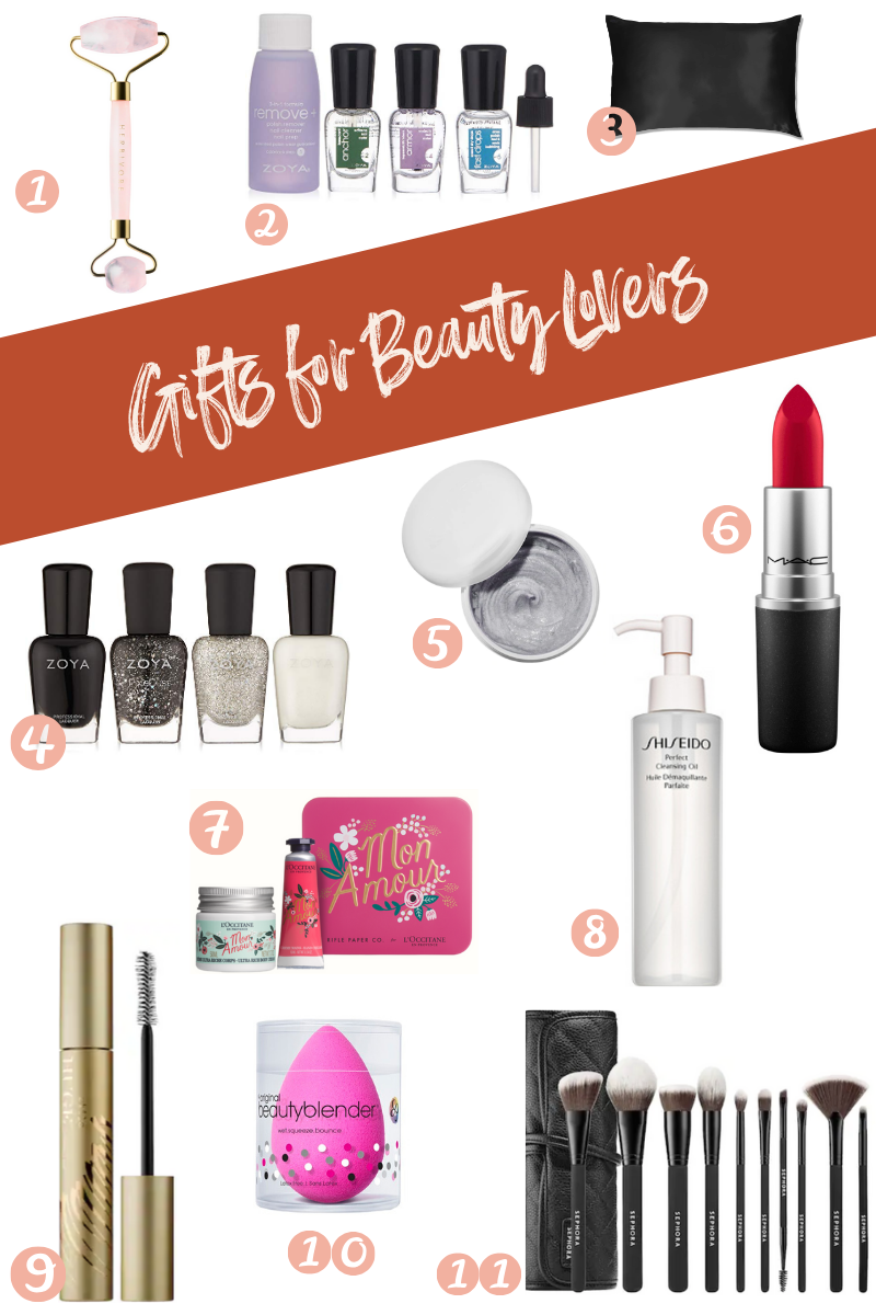 A holiday gift roundup for the beauty lover in your life