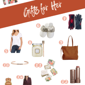 SweetPhi holiday gift guide - perfect gifts for her, best gifts for her, holiday gift guide for her