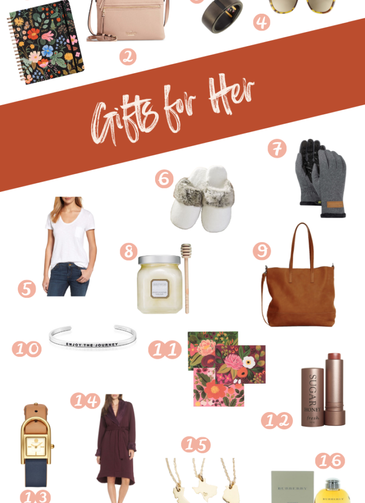 Holiday gift guide, best gifts for her