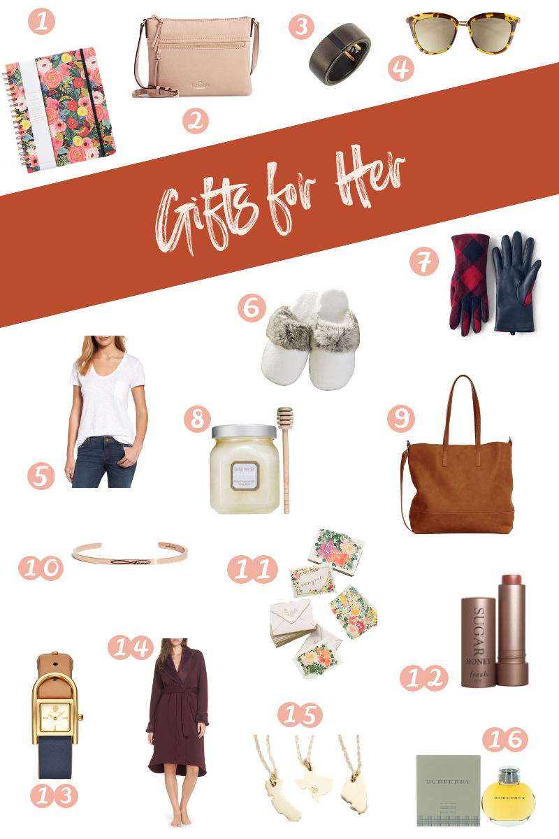 SweetPhi holiday gift guide - perfect gifts for her