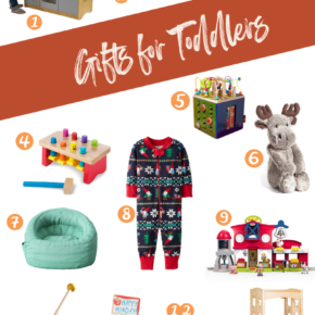 Perfect gifts for your toddler this holiday