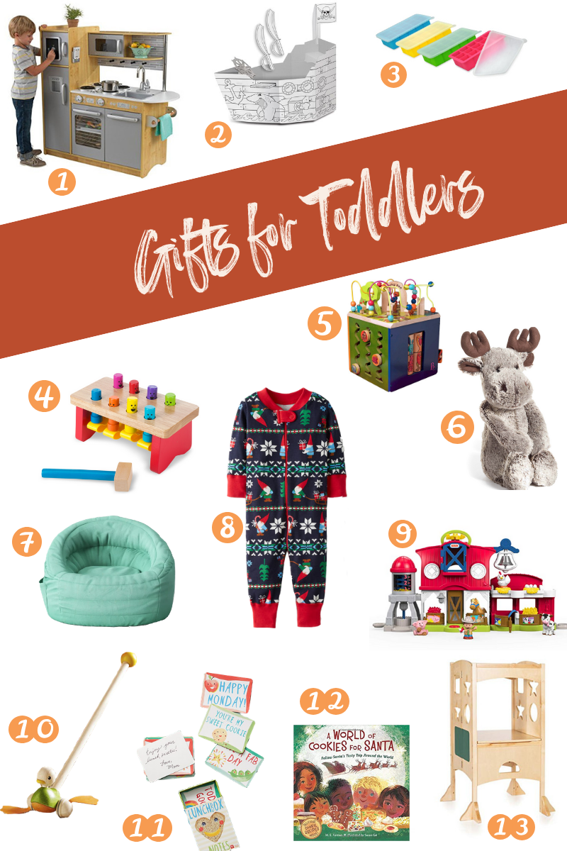 Perfect gits for the holidays for toddlers