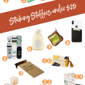 SweetPhi Holiday gift guides, stocking stuffers under $25