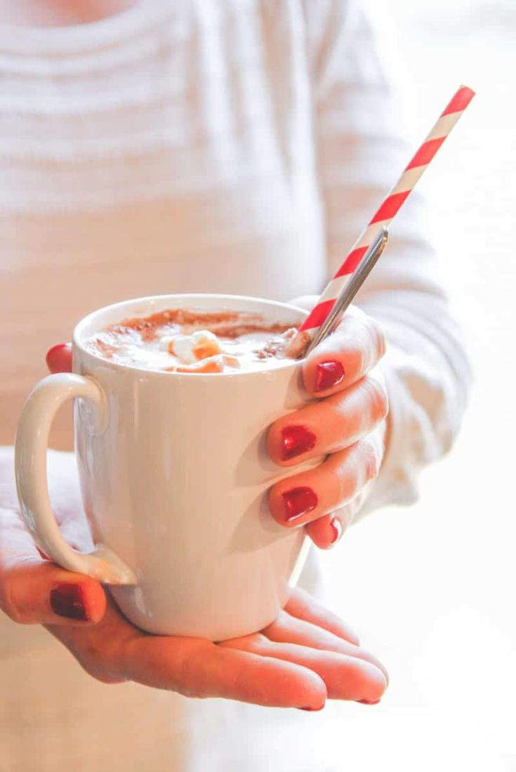 Hot Chocolate Recipe {and how to set up a hot chocolate bar}