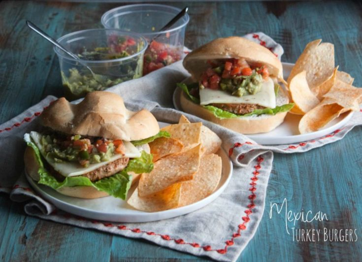 Mexican Turkey Burgers with Pick 'n Save Ingredients {& Quick Dinner Tips}