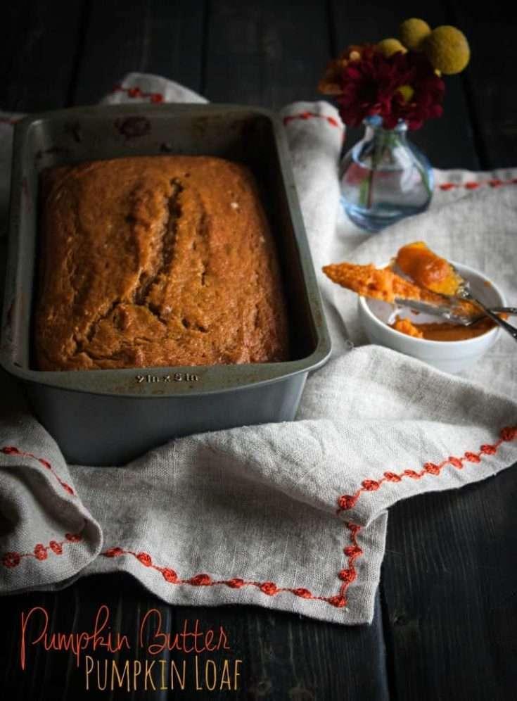 Pumpkin Butter Pumpkin Loaf {the BEST EVER Pumpkin loaf}