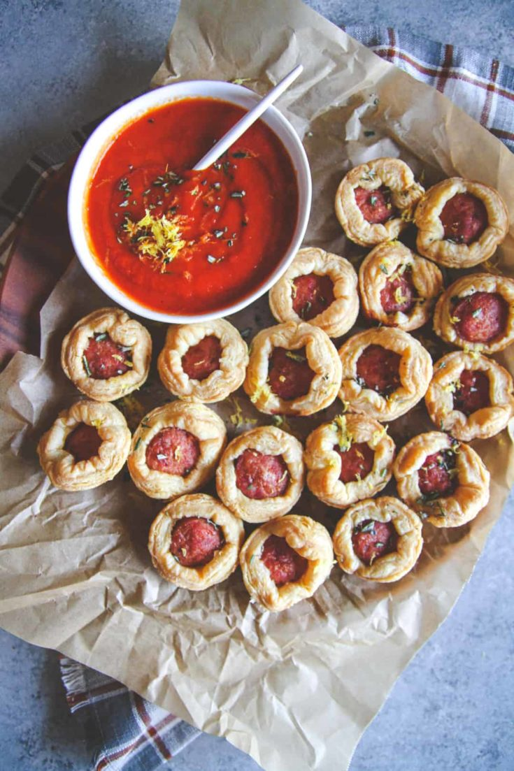 Sausage Puff Pastry Appetizer Recipe