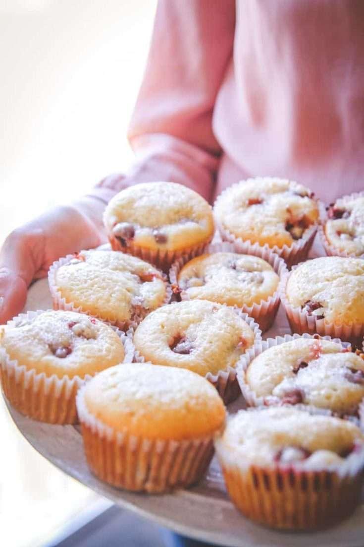 Sour Cherry Muffins