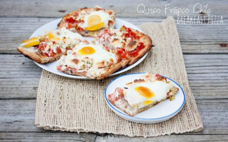 Queso Fresco Chile Breakfast Pizza