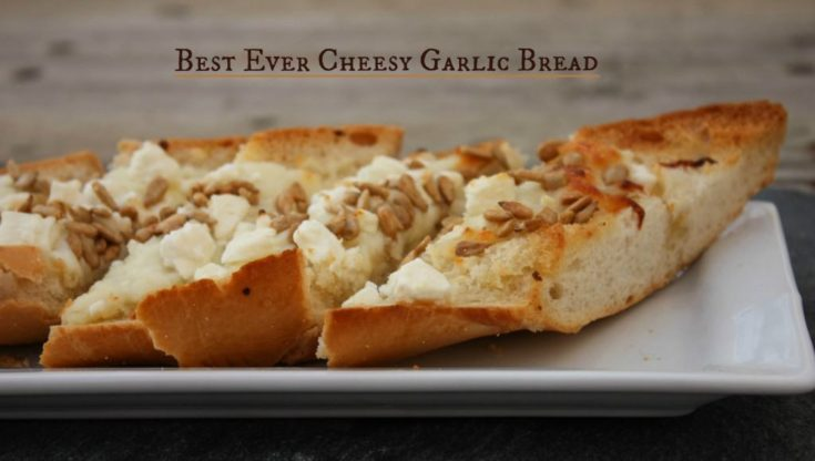 Best Ever Cheesy Garlic Bread - Pegasus Garlic Bread