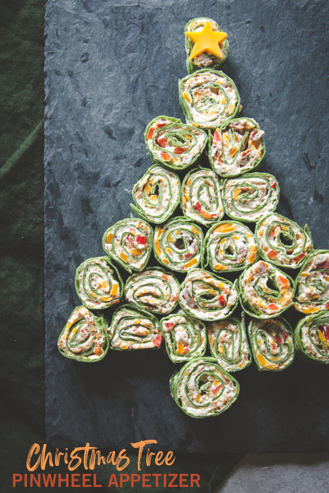 The best cheddar bacon ranch pinwheel wraps