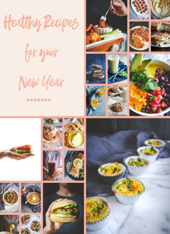 Healthy recipes for your New Year