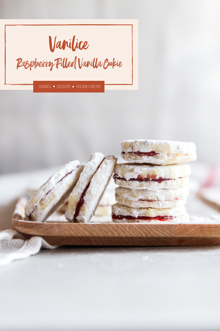 The best Serbian raspberry filled vanilla cookies