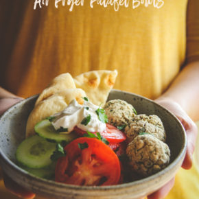 Air Fryer Falafel Bowls Recipe