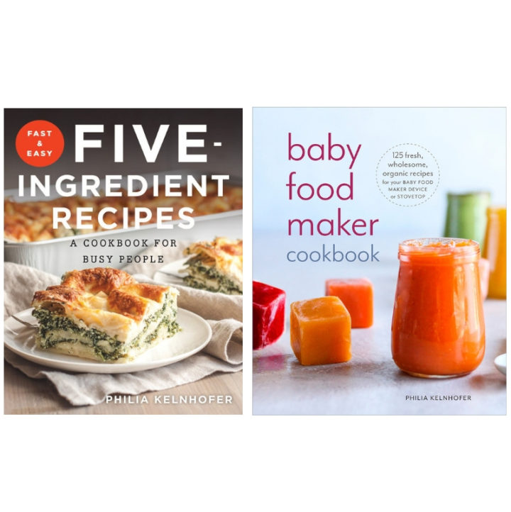 Fast and Easy Recipes Cookbook and Baby Food Cookbook