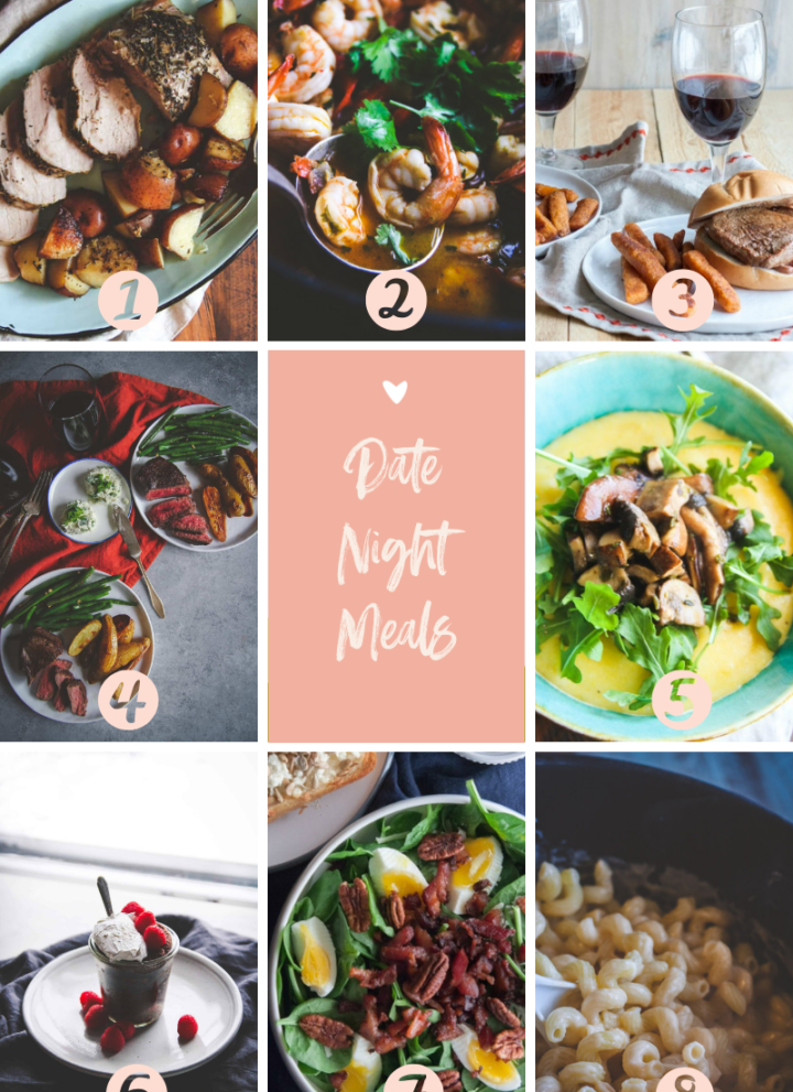 Date night meals, Valentines day, what to cook for a date night