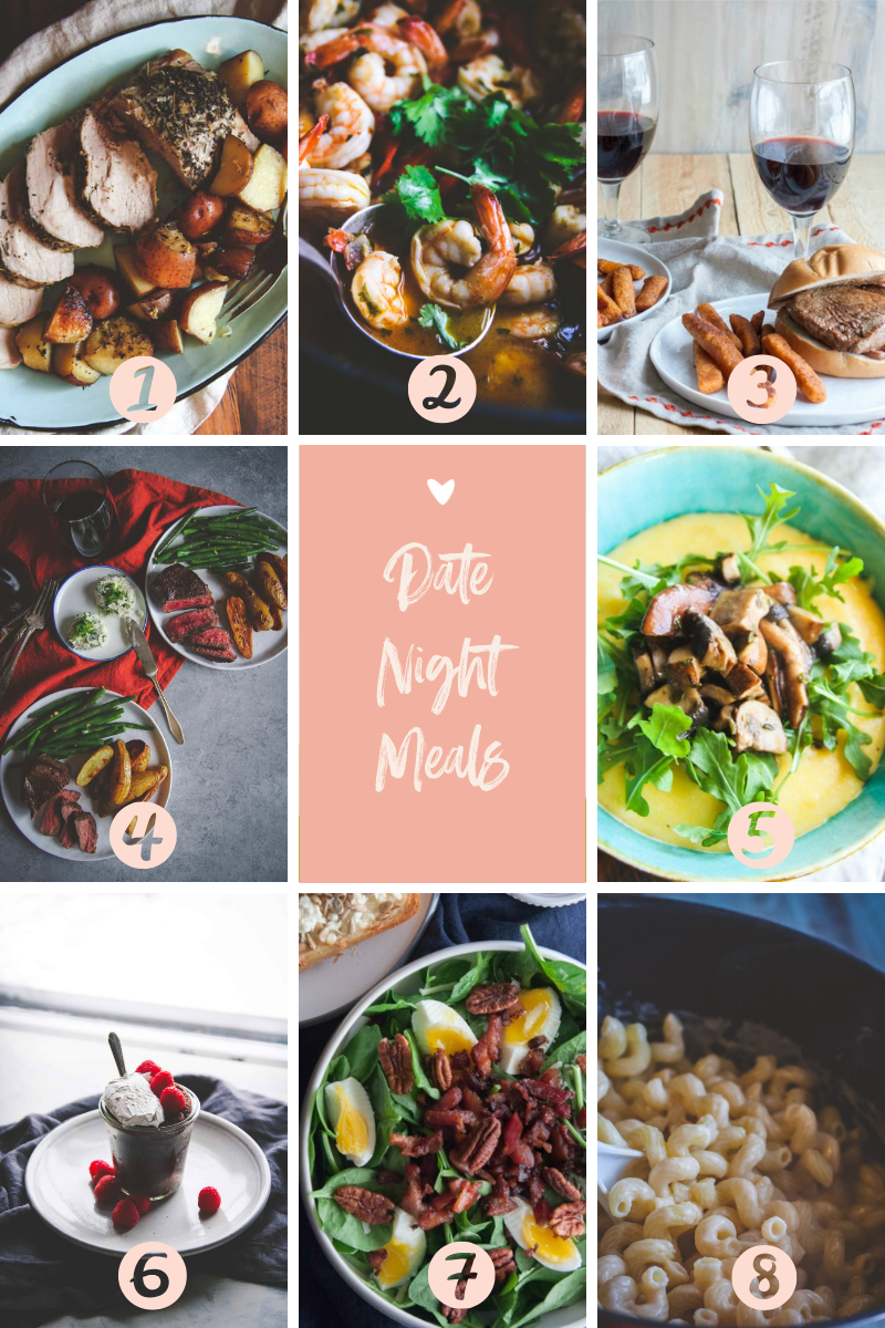 A SweetPhi roundup of our favorite date night recipes for Valentine's Day