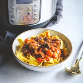 Instant Pot Hungarian Goulash