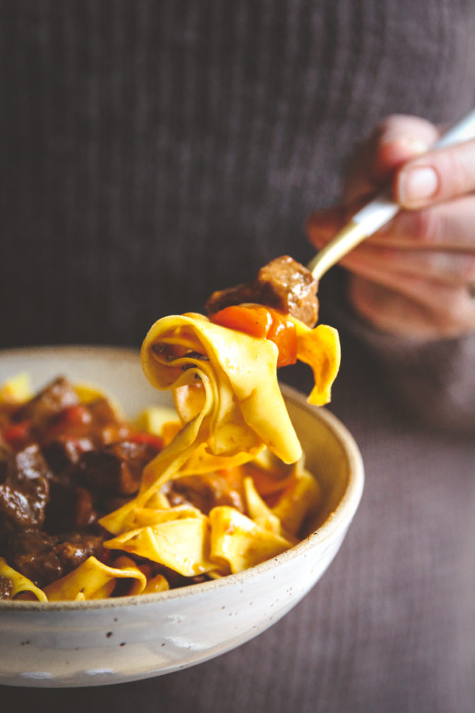 Instant Pot Hungarian goulash recipe, Hungarian goulash recipe, Hungarian beef goulash over egg noodles, Instant Pot beef recipe