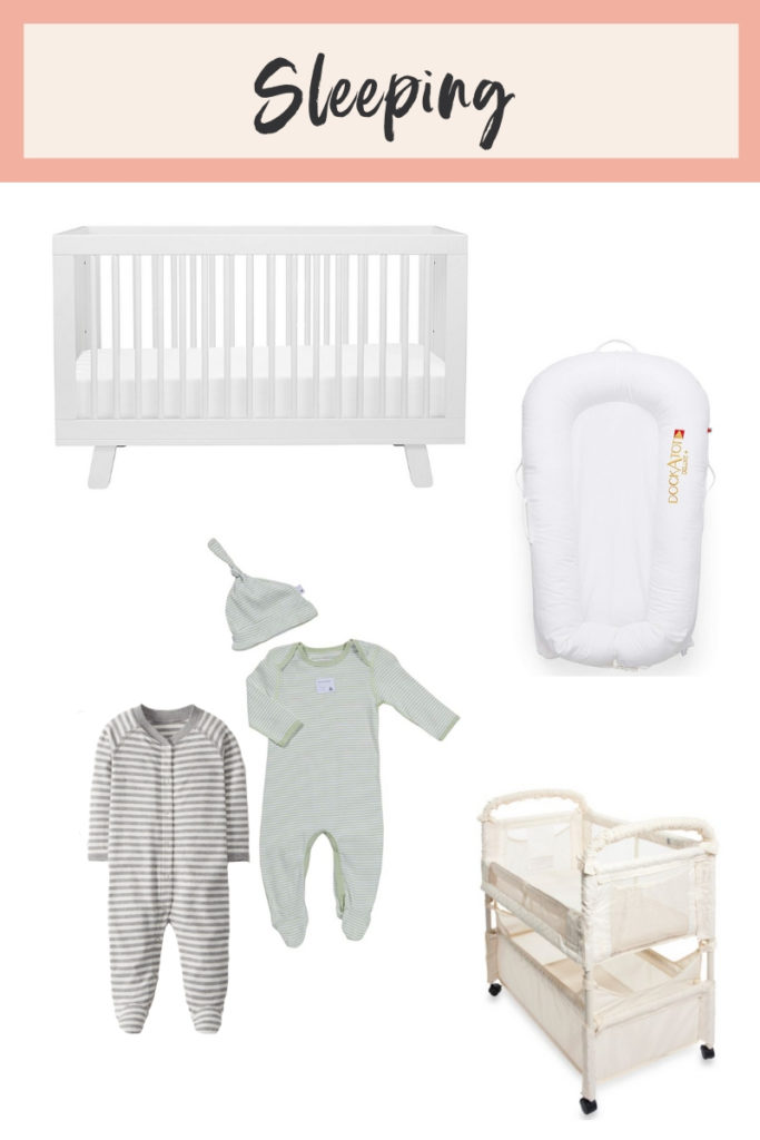 Best baby sleeping products, newborn baby essentials, baby items I actually used