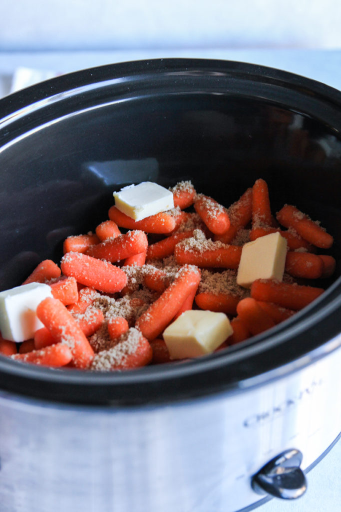 The best recipe for glazed carrots in a slow cooker