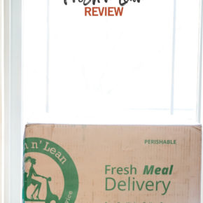 Fresh n Lean Meal Prep Delivery Review