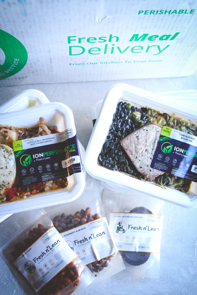 Fresh n' Lean meal prep meal delivery service review