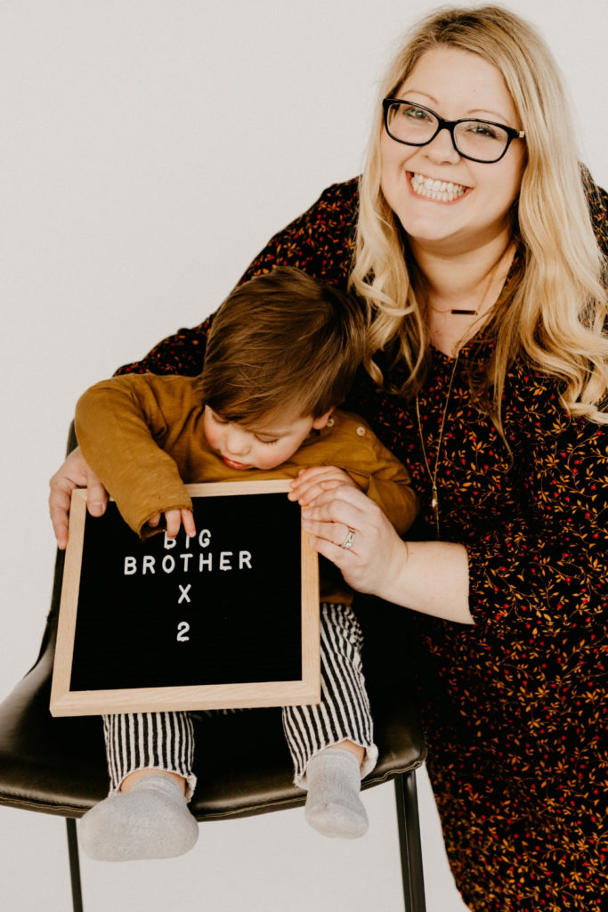 Twins pregnancy announcement, big brother times two, sibling announcing twin pregnancy, Philia Kelnhofer Sweetphi