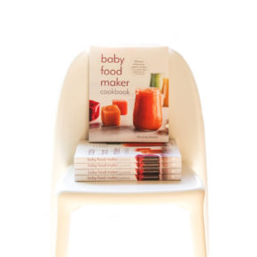 Baby Food Maker Cookbook Out in Stores Today!
